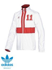 Men's Adidas Originals 'England' Track Jacket (X28029) x5 (Option 2): £9.95